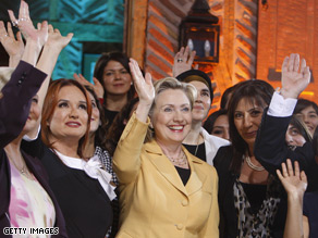 Hillary Clinton appeared on the Turkish television program &#039;Haydi Gel Bizimile Ol.&#039; 