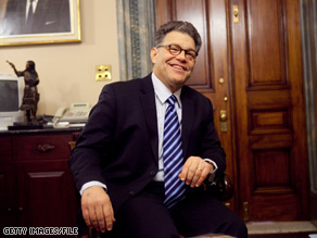 Al Franken says a resolution is near in his marathon battle against Norm Coleman for the contested Senate seat from Minnesota.