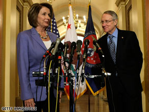 The president plans to meet every Wednesday morning with House Speaker Nancy Pelosi and Senate Majority leader Harry Reid, sources tell CNN.