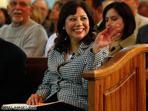 Dates have been set for a special election to replace Labor Secretary Hilda Solis.