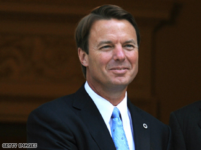 Former Sen. John Edwards admitted Thursday that he fathered a baby with his mistress.