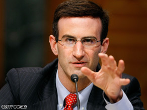 Peter Orszag, the Office of Management and Budget Director, is engaged.