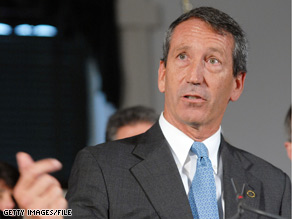 South Carolina Gov. Mark Sanford has mysteriously stepped out of the public eye.