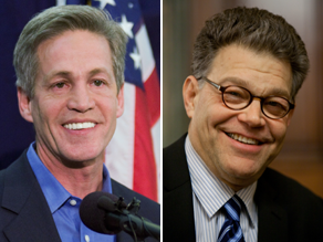 The FEC made a decision about fundraising for the Coleman-Franken election constest.