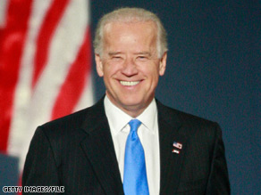 Vice President Biden joked while speaking at a Democratic fundraiser.