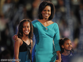 How are the Obama girls adjusting to their new life as the nations first daughters