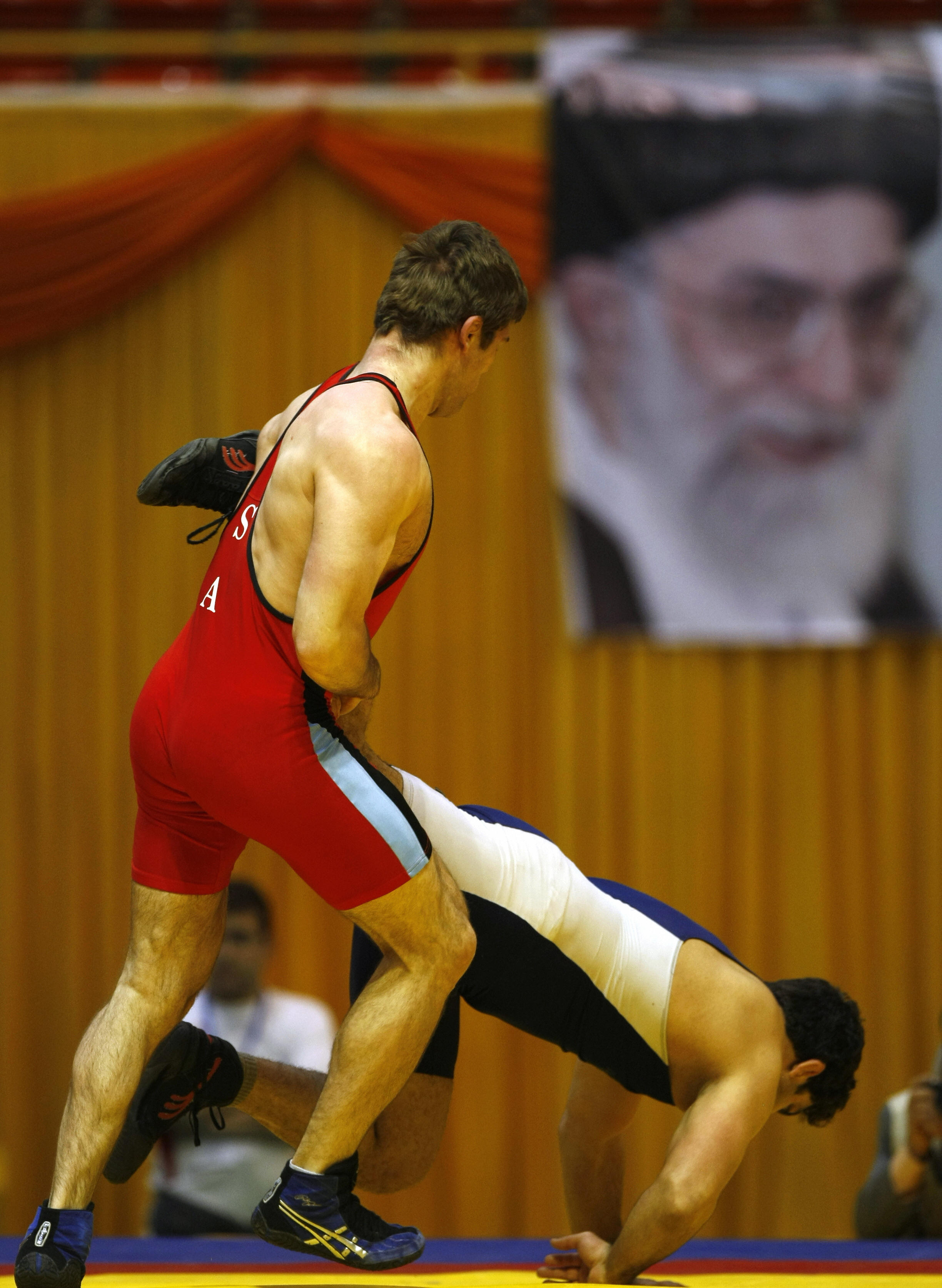 Inside the Middle East: Blog Archive - The Day in Pictures ...wrestling bulges