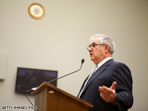 The House Financial Services Committee, chaired by Rep. Barney Frank, is taking a look at the bonuses being paid to AIG employees.