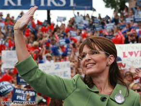 Alaska Democrats say Palin is making 'narcissistic' decisions.