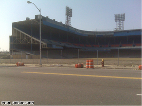 Detroit's Tiger Stadium.