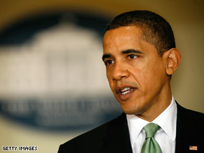 President Barack Obama defended his treasury secretary Wednesday, saying that no one in the Obama administration had been Responsible for supervising ailing insurance giant AIG.