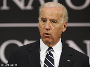 Biden lent his voice for a radio ad for Democrat Scott Murphy.