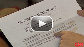 CNN's Deborah Feyerick looks at the effect of foreclosure on renters.