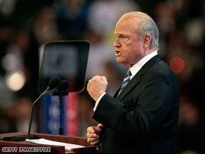 Fred Thompson, a former Tennessee senator and presidential candidate, asks supporters in his e-mail to donate to Jim Tedisco and solicits contributions to his PAC.
