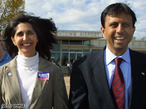 Supriya Jindal, the wife of Louisiana Gov. Bobby Jindal, is flattered by speculation that her husband could be the Republican Party's standard-bearer in 2012.