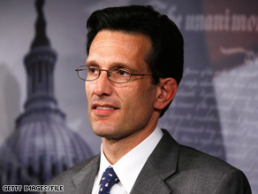 House Republican Whip Eric Cantor criticitized the Obama administration&#039;s plans to strengthen the housing market as Republicans debuted their own proposal.