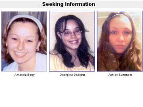 Amanda Berry, Georgina DeJesus and Ashley Summers all disappeared from the same Cleveland neighborhood, according to the FBI.