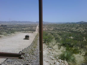 Near the U.S.-Mexican border.