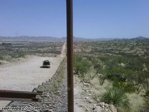 Near the U.S.-Mexican border.