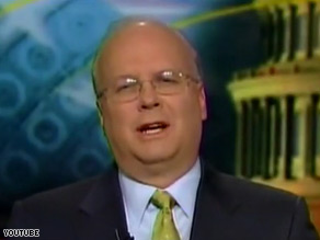 The DNC released a scathing Web ad Thursday blasting Karl Rove, pictured above, for a his recent comments calling President Obama an &#039;arrogant guy.&#039; 