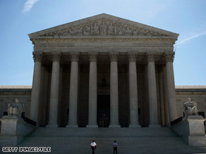 The Obama administration faced tough questions Wednesday from conservative justices at the Supreme Court.