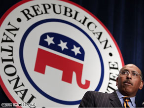 RNC chairman Michael Steele said Monday that there's one Republican Party..