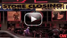 Lola Ogunnaike reports on the Virgin Megastore chain closing in the U.S.