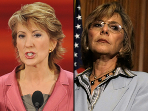 Fiorina may challenge Boxer for the Senate.