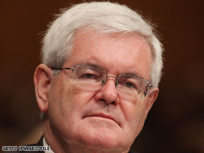 Sen. Tom Coburn had some harsh words on Friday for former Republican Speaker Newt Gingrich.