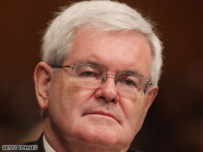 Gingrich says the Obama administration is 'anti religious'.