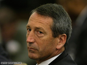 South Carolina Gov. Mark Sanford mysteriously disappeared last Thursday.