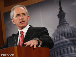 Tennessee Sen. Bob Corker will deliver the keynote address to the South Carolina GOP's Silver Elephant Banquet.