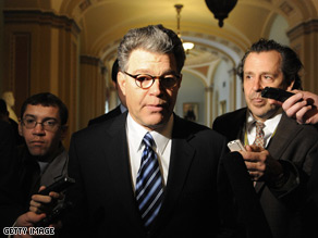 Democrat Al Franken extended his lead over former Republican Sen. Norm Coleman Tuesday as the three-judge panel overseeing the election trial tallied an additional 351 absentee ballots that had not previously been included.