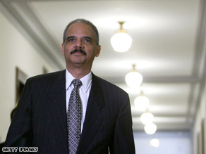 Holder stepped up his call for the passage of federal hate crimes legislation Thursday.