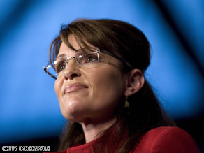 Sarah Palin criticized President Obama for closing a General Motors car dealership in her home state.