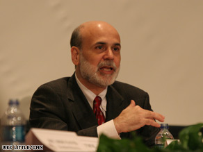 Among the positive indicators Federal Reserve Chairman Ben Bernanke mentioned were recent upticks in home sales and new home construction.