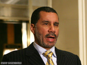 A new poll shows bad news for New York Gov. David Paterson, days after President Obama reportedly made it clear he does not want Paterson to run for reelection.