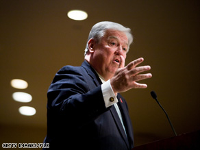 Mississippi Gov. Haley Barbour's term expires in 2011.