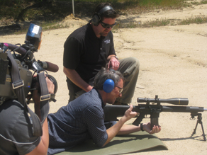 CNN's Gary Tuchman trains like a SEAL in California.