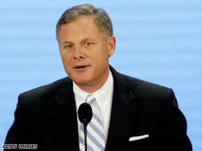Republican senator Richard Burr is a top Democratic target in 2010.