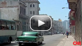 President Obama is slowly shifting U.S. policy on Cuba. CNN&#039;s Jim Acosta reports.