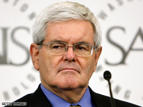 Gingrich said Monday the president's greeting with Chavez will be used as propaganda by enemies.