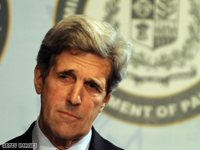 Kerry is chairing a hearing on the future of journalism on Wednesday.