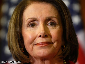 Speaker Pelosi said Wednesday that she had been informed that fellow Democrat Rep. Jane Harman had been picked up on a federal wiretap.