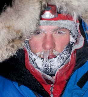 Researcher BJ Kirschoffer. Courtesy: Polar Bears International