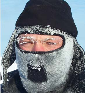 Researcher Tom Smith in the Arctic. Courtesy: Polar Bears International.