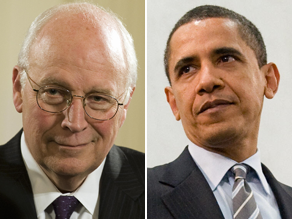 Cheney&#039;s war of words with the Obama administration continues.