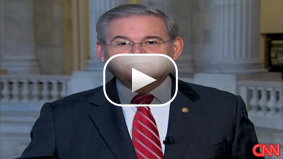 Sen. Robert Menendez speaks to CNN about urging President Obama to crack down on credit card companies.