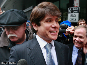 Blagojevich appears on 'Celebrity Apprentice' in March.