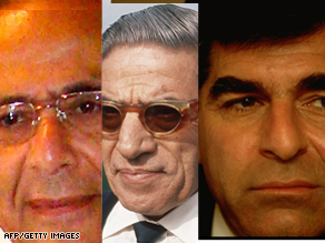 From left to right, Jack's grandfather (X.L. Papaioanou), Aristotle Onassis and Michael Dukakis.